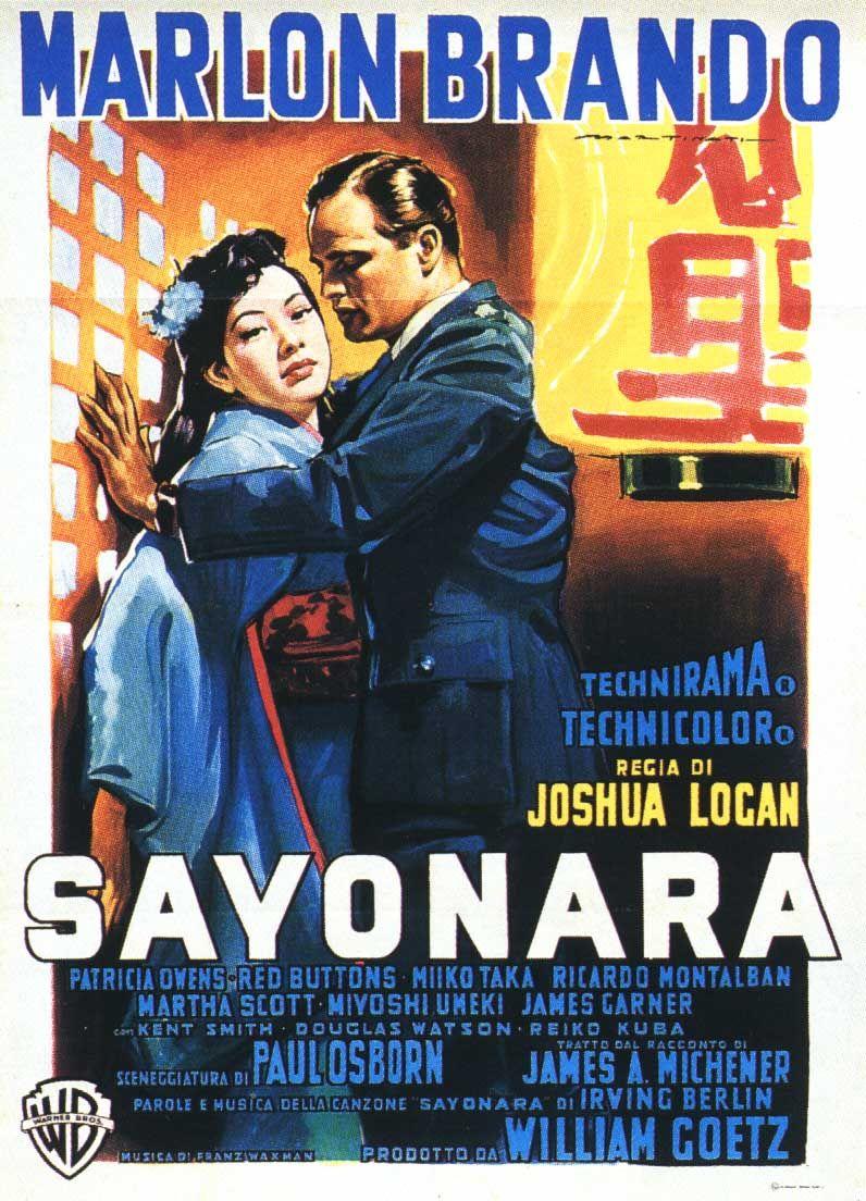 1957 sayonara. Maroon #brando - One of my very favorite Marlon Brando movies