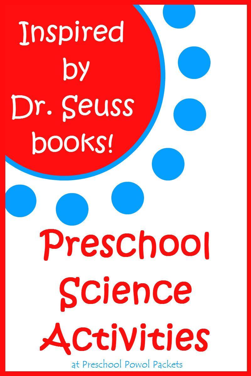 Inspired-By-Dr. Seuss Science Activities! | Kindergarten, Activities ...