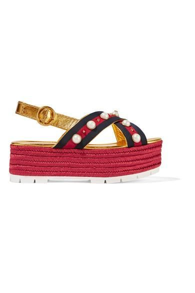 #TuesdayShoesday: 9 Espadrilles We're Adding to Our Shopping Carts via @WhoWhatWear