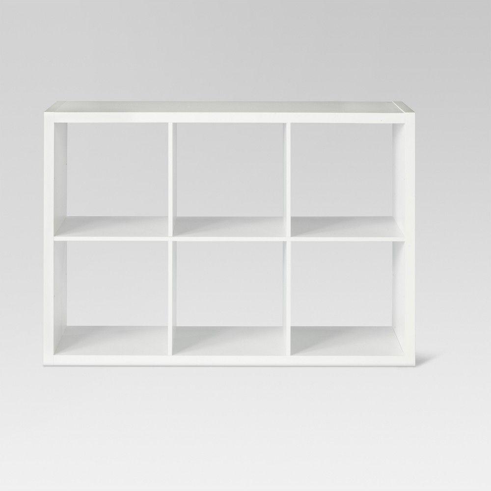 13 6-Cube Organizer Shelf White - Threshold | Products in