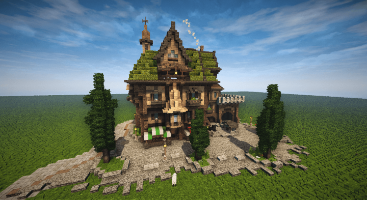 minecraft simple house world download
