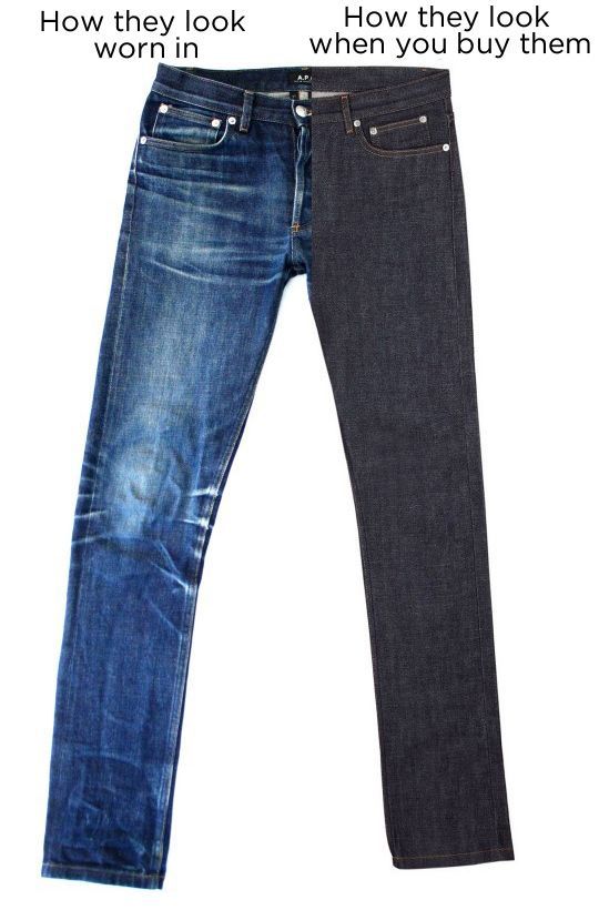 ef76deb3f1464 18 important things about Raw Denim. tips on how to get the fade you want  etc