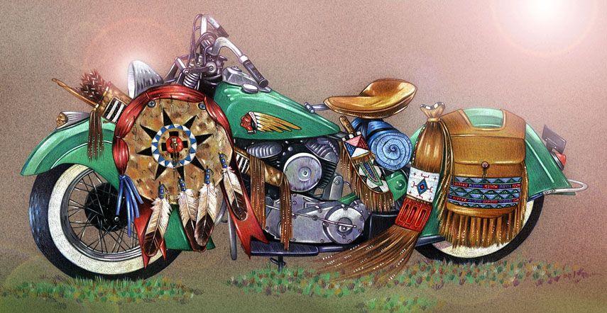 Motorcycle Artwork Gallery Jugjunky Com Motorcycle Art