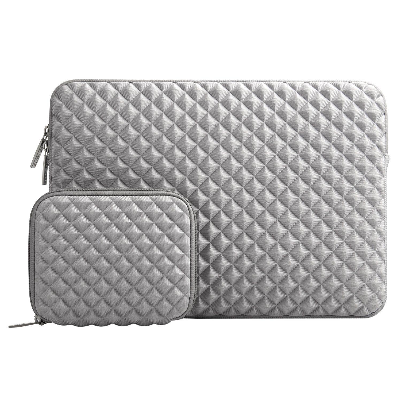 649abe5f16 Mosiso Housse Pochette pour 13-13.3 Pouces MacBook Pro/Air, Ordinateur  Portable, Mousse de Diamant Résistant à l'eau et Sac de Lycra Résistant aux  Chocs ...