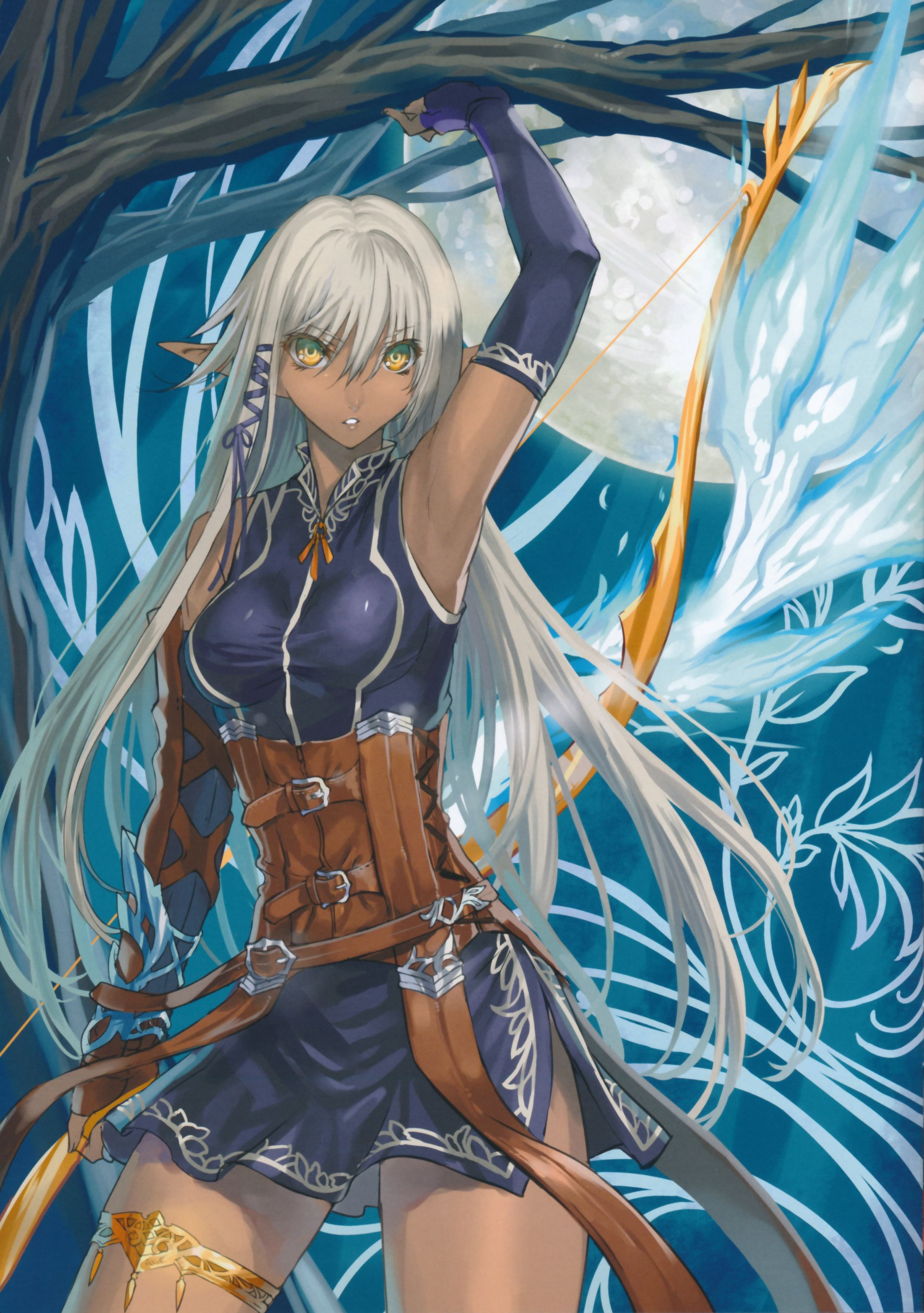 Anime picture 2127x3022 with original ranou long hair tall