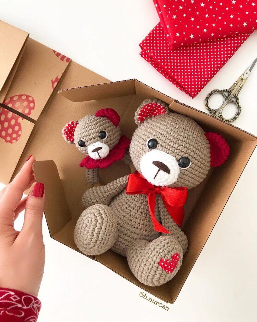 Crochet Teddy Bears Amigurumi Free Pattern – Free Amigurumi Patterns #crochetteddybears