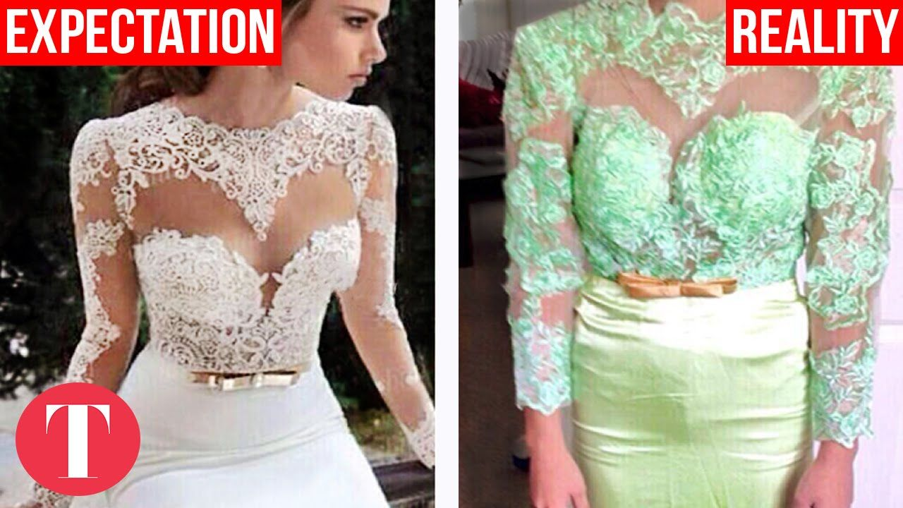 Cheap Online Shopping Disasters | Humor | Pinterest | Cheap dress ...