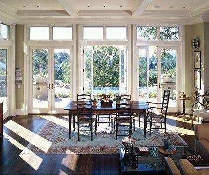 Traditional Dining Room Charlie Barnett Ociates Architecture