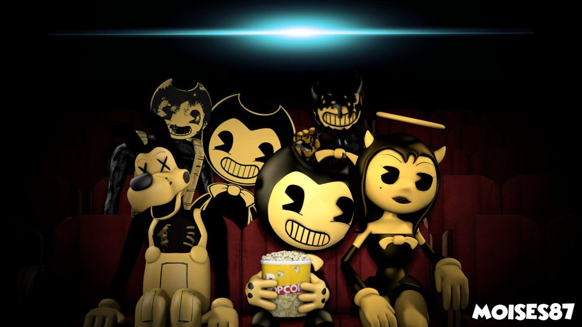 Bendy And The Ink Machine Wallpaper 2 Sfm By Moises87 Bendy