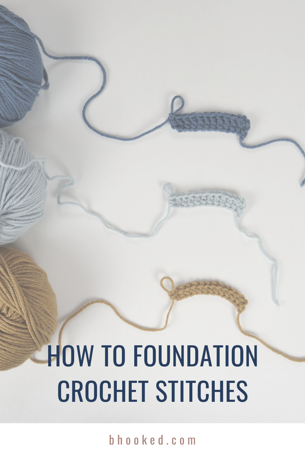 How to Foundation Crochet Stitches