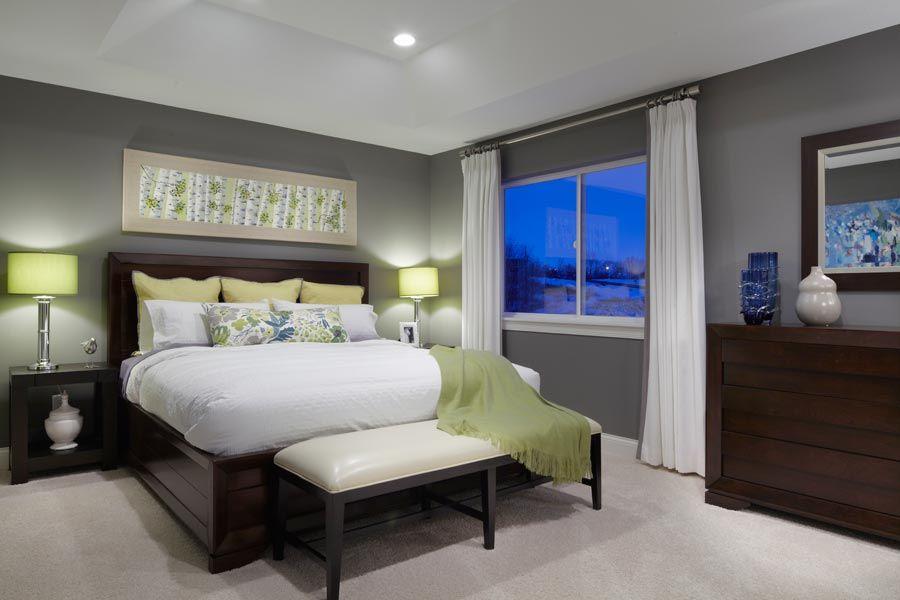 fabulous bedroom grey walls   Grey walls bedroom! Add an orange accent wall!   Bedroom ...