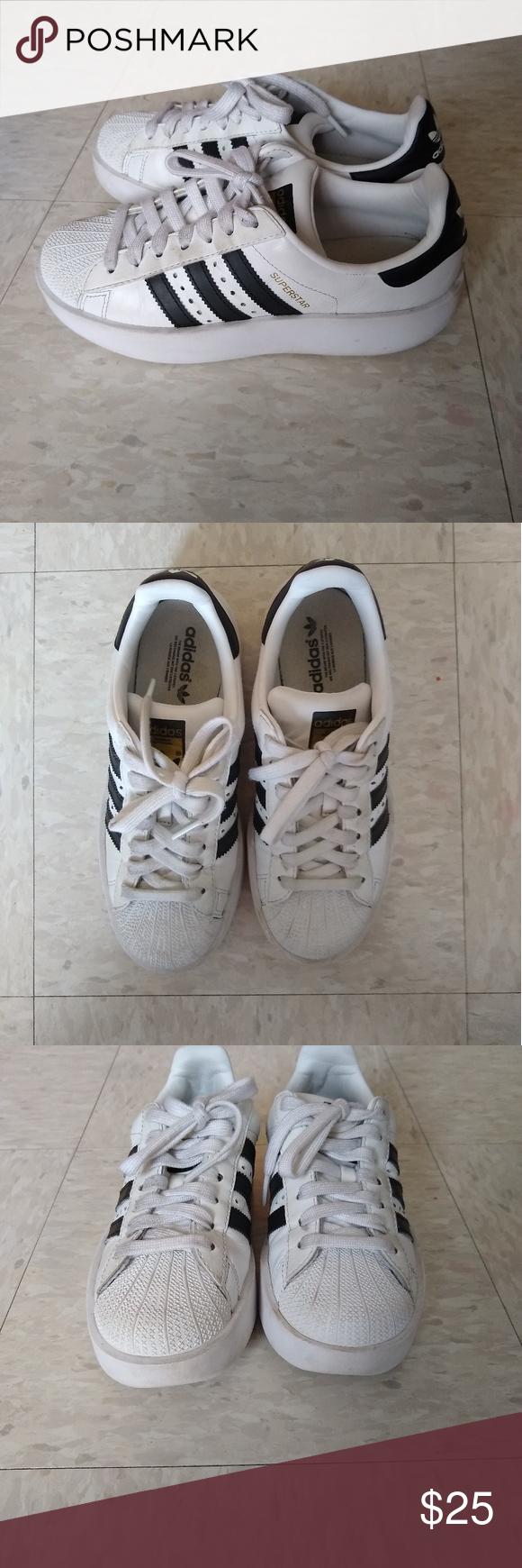 Adidas Superstars Size 5.5 | Adidas