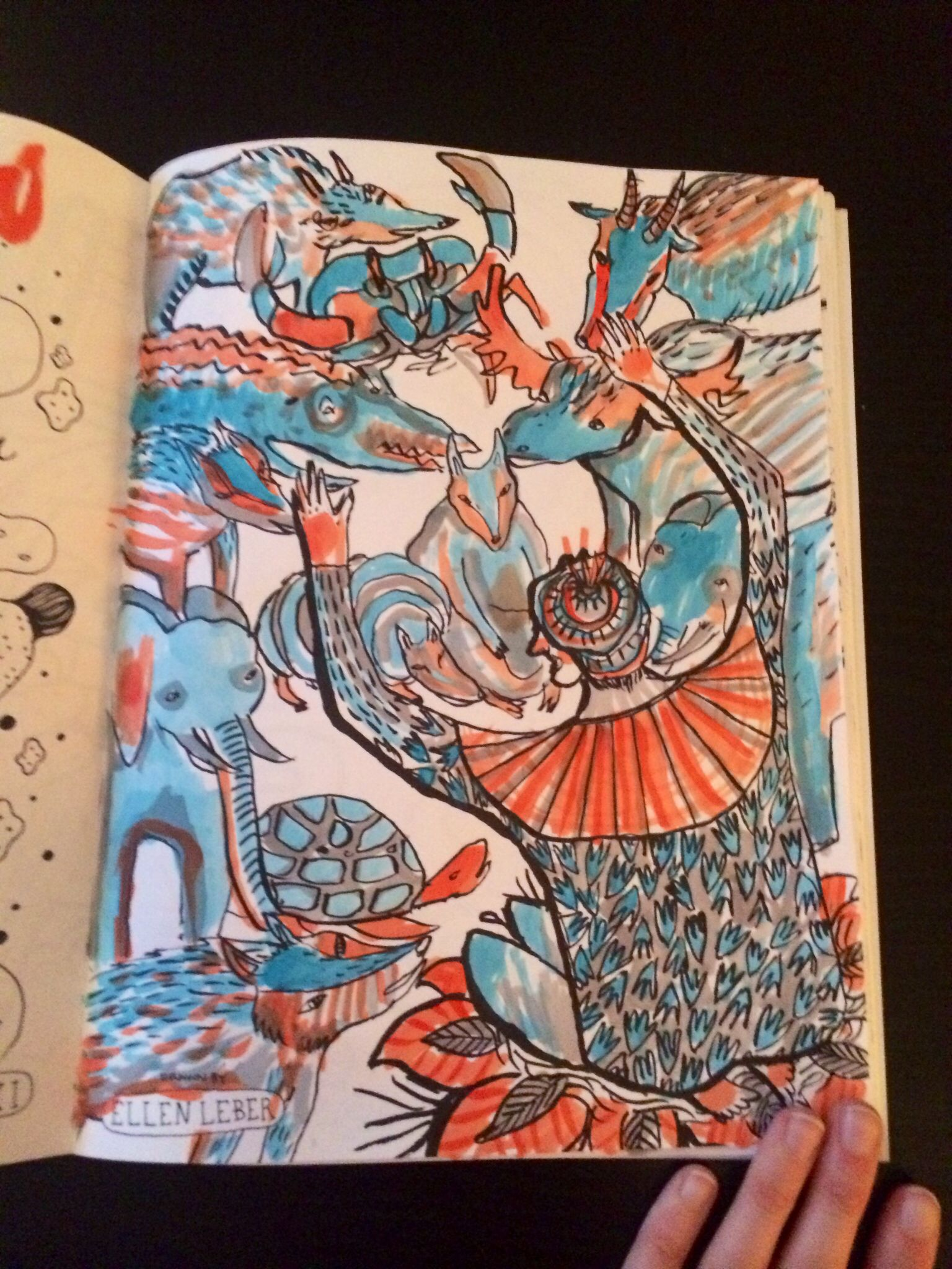 Doodlers Anonymous Colouring Book