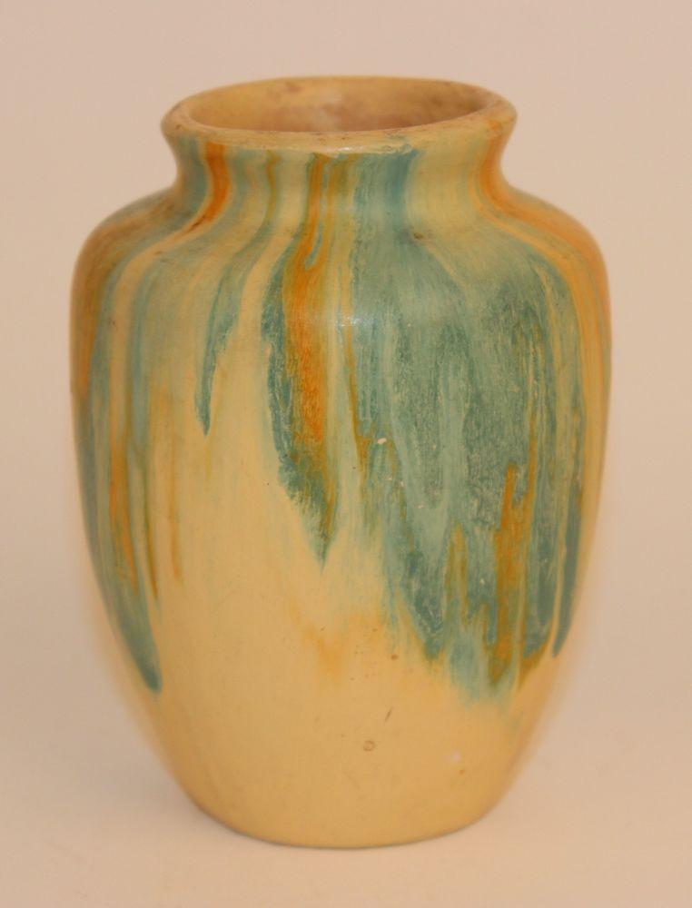 Early Camark Pottery Blended Drip Glaze Vase In 2018 Camark