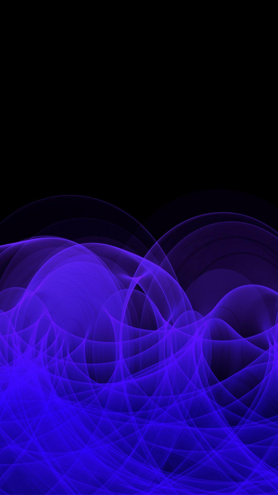 Clots Curls Blue Lines Abstraction Wallpaper Abstract Hd Wallpaper Backgrounds Phone Wallpapers