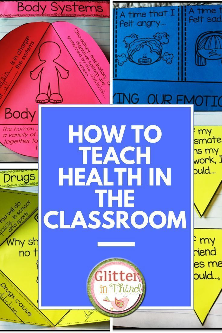 How to teach health in the classroom is part of Elementary health lessons, Health lesson plans, Education lesson plans, Elementary physical education, Health and physical education, School health - Not sure where to start when teaching health in your elementary school classroom to kids  This interactive notebook about social & emotional learning, wellness, fitness, nutrition, and bullying will fit easily into your lesson plans, and is full of activities that your students will love!