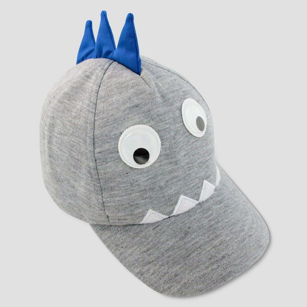 b1fdb75fd76 Delight your little bundle of joy with the Toddler Boys Monster Baseball Hat  in Gray from Cat and Jack. Made for long road trips days at the beach or a  bit ...