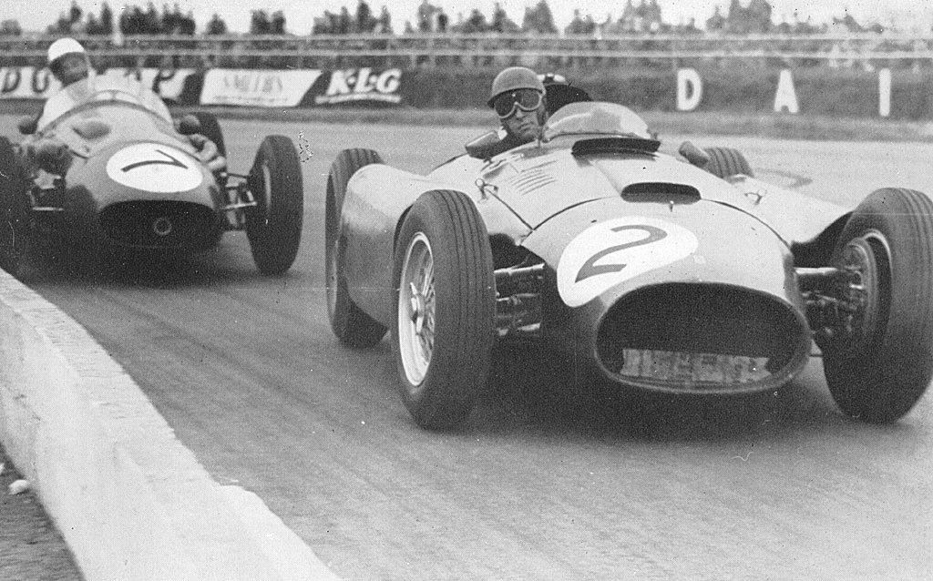 Peter Collins - 1956 Ferrari