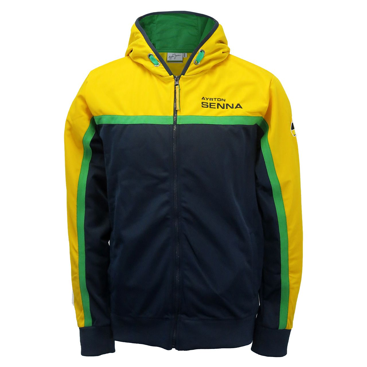 Ayrton Senna Zip Hoody Racing Merchandise
