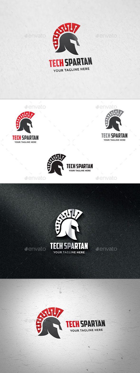 Tech Spartan Logo   Pinterest