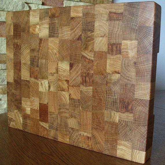 À découper planche bois Fin Grain bouchers Blocs-Chêne