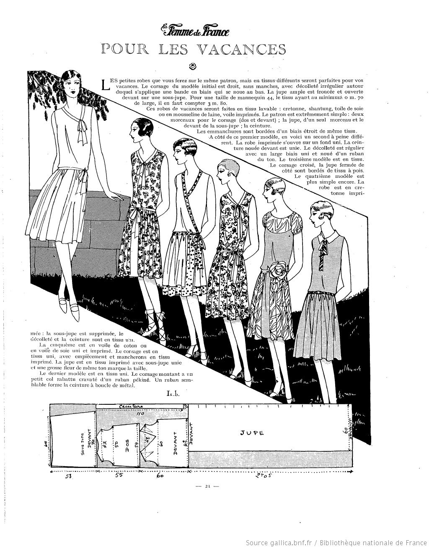 La Femme de France [   Patterns/Tutorials 1920s   Pinterest   20er ...