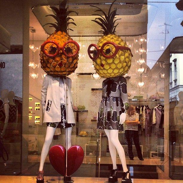 Photo by anna_747 #moschino #mymoschino #windowsplay #pineapple