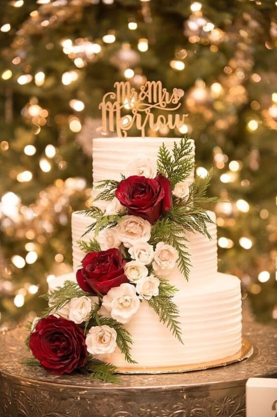 Gorgeous Burgundy and Ivory Fall Wedding Color Ideas
