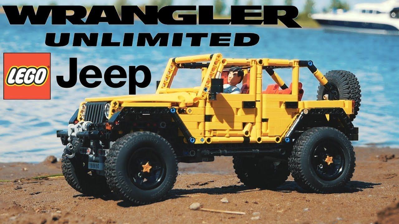 Lego Technic Jeep Wrangler Unlimited Jk Madoka With Sbrick Lego Technic Lego Lego Technic Truck