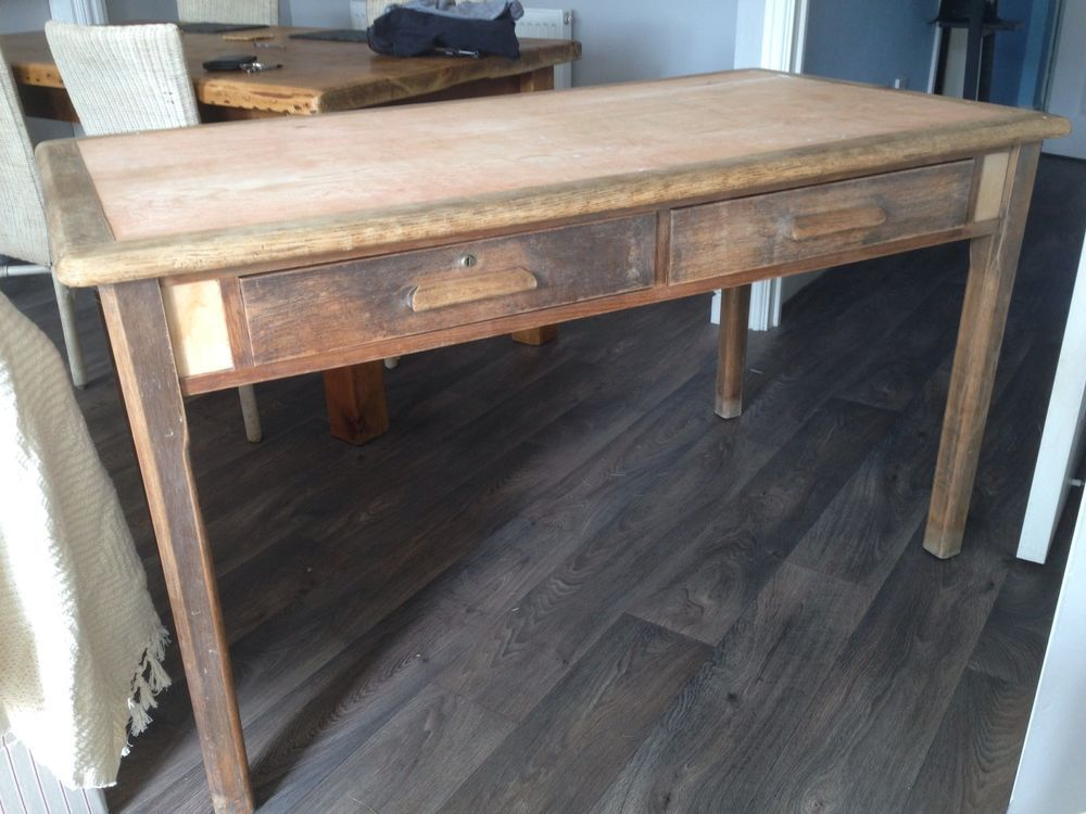 home office dining table desk india vintage abbess school with drawers for project