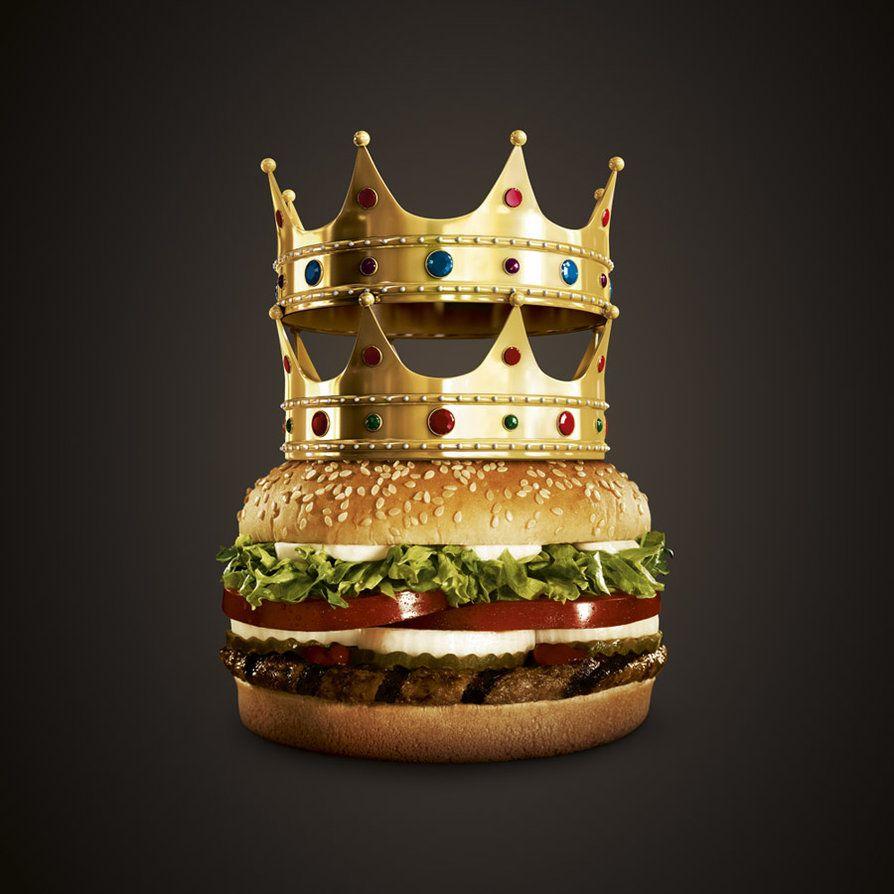 Burger King Crowns by micheldani | Burger king crown, Food ...