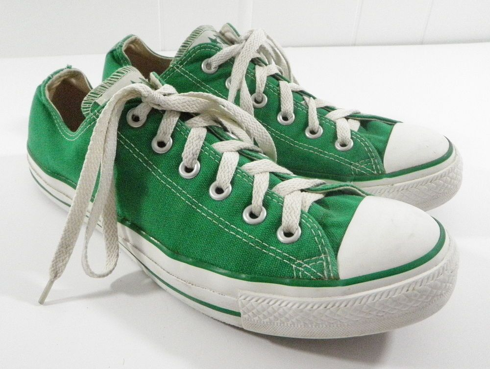 Converse All Star Low Top Chuck Taylor Kelly Green Mens 8 Womens 10 Canvas  Shoes  Converse  chucktaylor  chucks  green  kellygreen  lowtops  sneakers  ... 11164c141