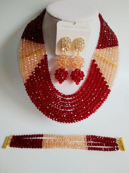 Aliexpress Com Buy 2016 Fashion Wine Burgundy African Beads