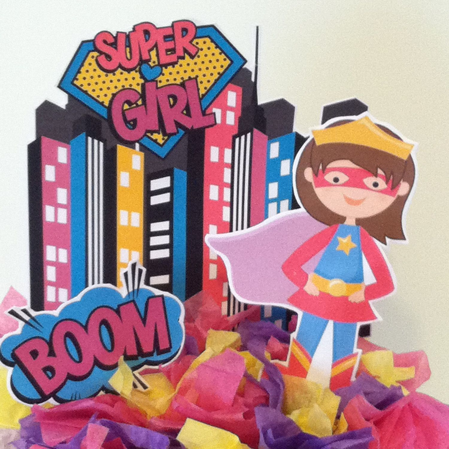 Supergirl Cake Topper | Supergirl cakes, Cake toppers ...