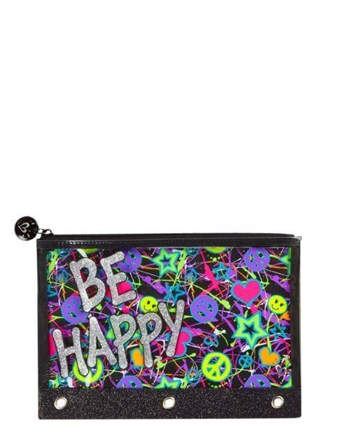 23ebe5f3bf Glitter Graffiti Pencil Case