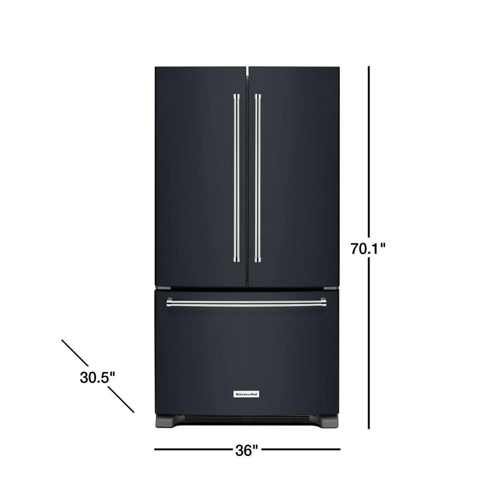Kitchenaid 20 cu ft french door refrigerator in