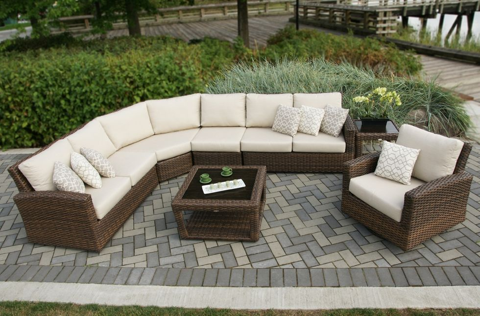 Portofino Sectional From Ratana Indoor Outdoor Furniture