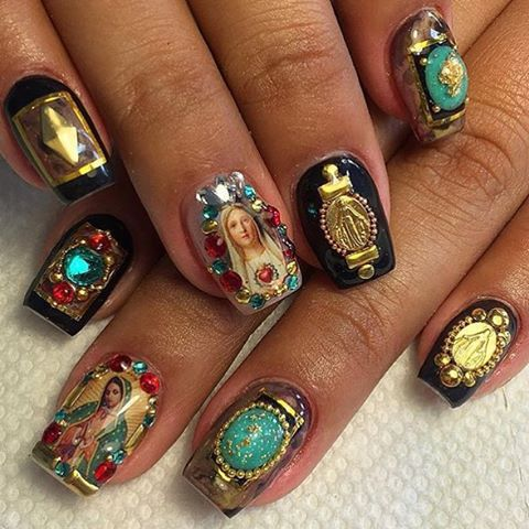 Day of the Virgencita #virginmary #chachacovers on this set by…