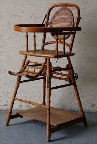 Chaise Haute Thonet Ancien Art Nouveau Bois Courbe Jugendstil