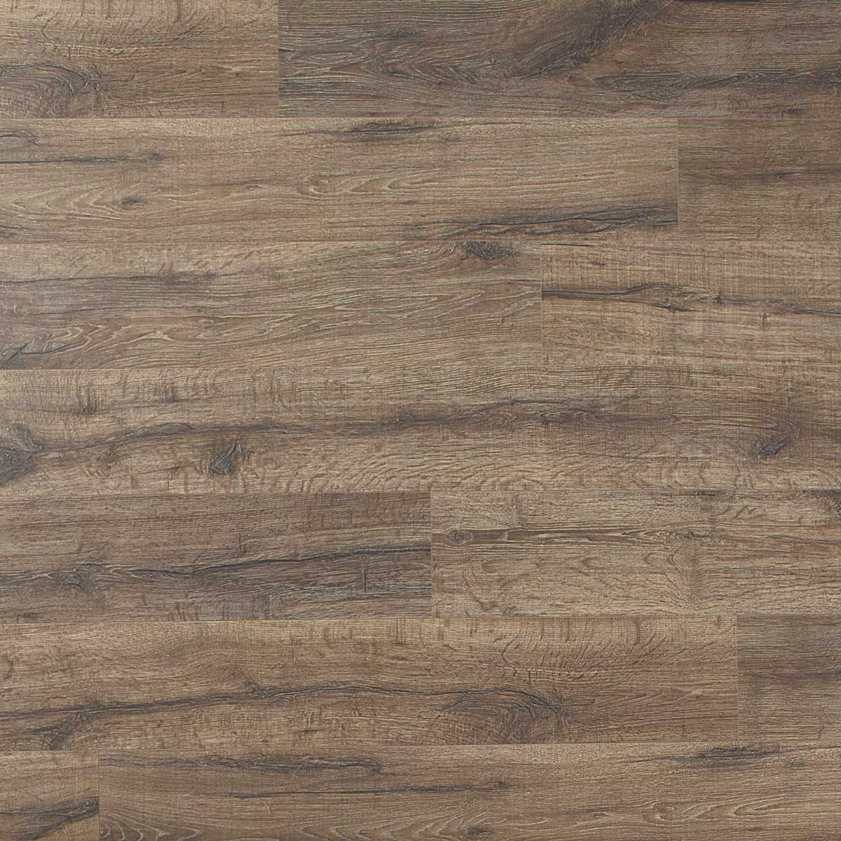 The perfect hue for a dining room heathered oak planks for Wide plank laminate flooring