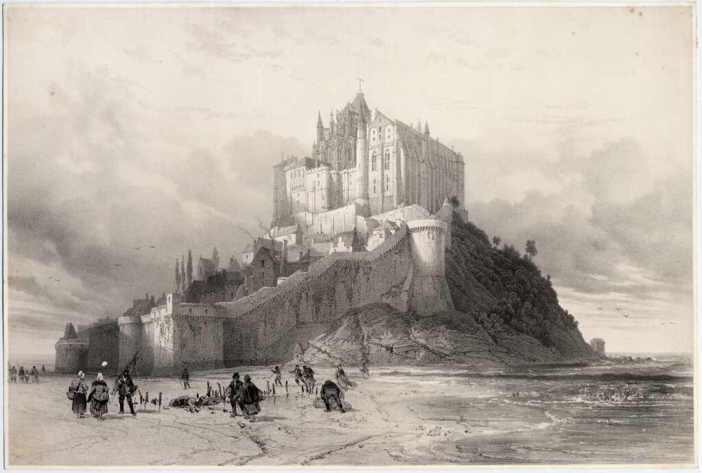 Regards Sur Le Mont St Michel Les Archives Departementales De La Manche Editions Ouest France Mont Saint Michel Mont Saint Michel France Le Mont St Michel