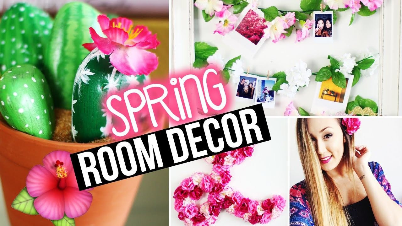 Diy Spring Room Decor Wall Decor Tumblr Inspired Spring Diy