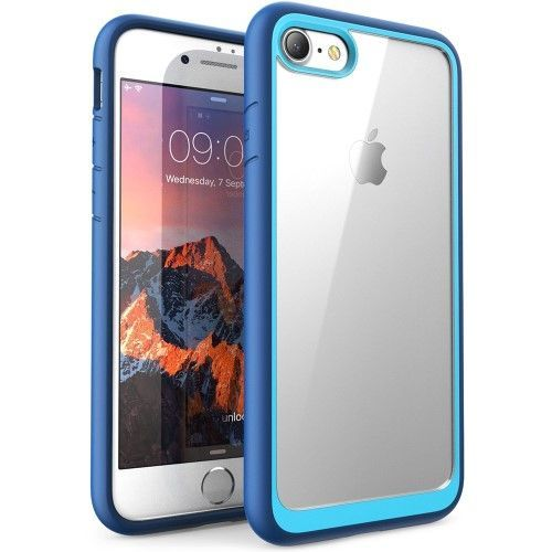 coque bleu iphone 8