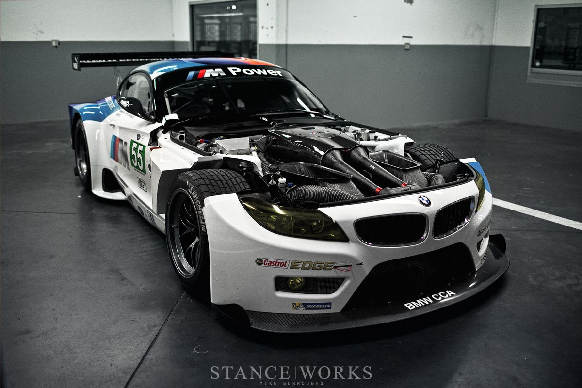 Bmw Z4 Gte Debuts Replacing M3 Gt In Alms Bmw 3 Series