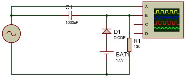 Diode Clamper Circuits Circuit Circuit Diagram Simple Circuit