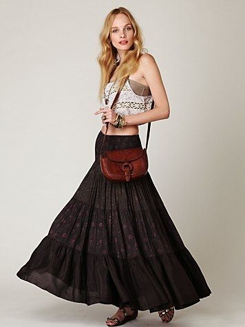 Free People Ziller Park Convertible Maxi at Free People Clothing Boutique - StyleSays