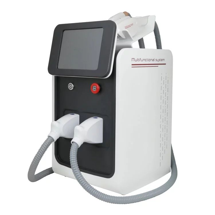3 in 1 IPL Elight RF SHR nd yag laser hair removal tattoos ...