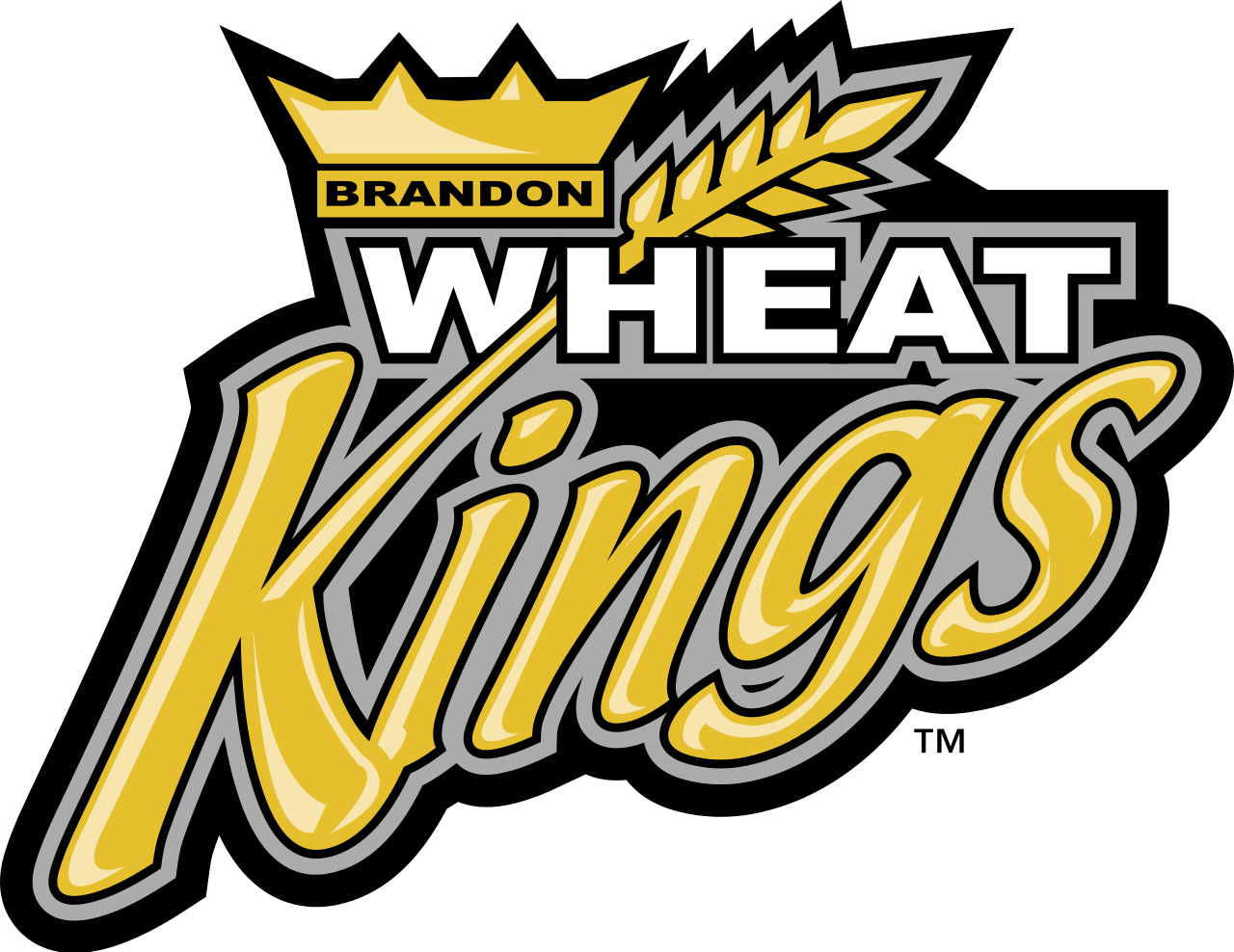 Hockey Logos Brandon Wheat Kings Western Hockey League Brandon Manitoba