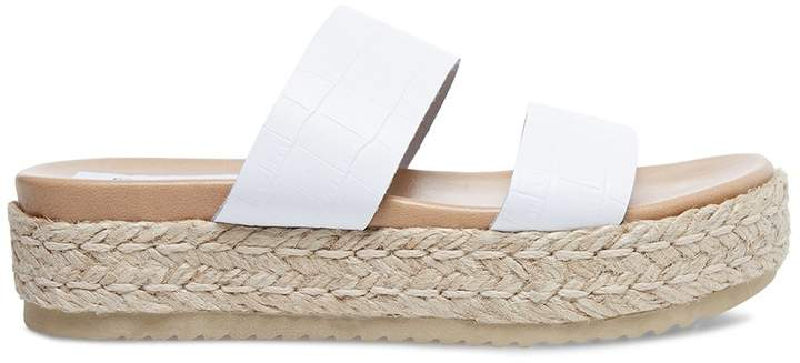 36251d4cfde Axie white crocodile in 2019 | Products | Espadrilles, Crocodile ...