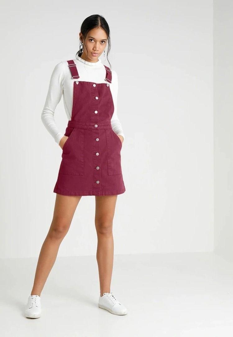 Sukienka Jeansowa Na Szelkach Twintip Rozm 36 8844667807 Oficjalne Archiwum Allegro Fashion Outfits Overall Shorts